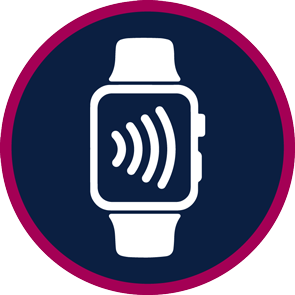 watch with wifi icon on face